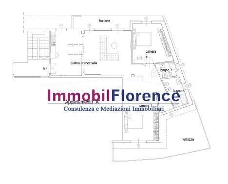 ATTICO VENDITA Firenze (zona Campo Di Marte / Cure / Coverciano)